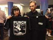 Image of PUNCH - Keeping Me Apart Tour T-shirt