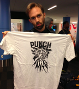 Image of PUNCH - Carrots Tour T-shirt