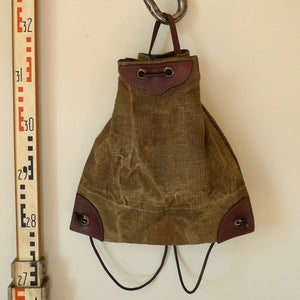 Image of Reclaimed Tent Canvas Ranger Rucksack