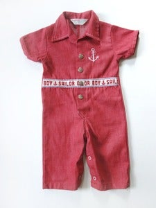 "Image of Vintage 60's Health-Tex Jumpsuit ""Sailor Boy"" 1 yo"