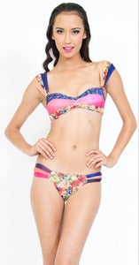 Image of Almost Famous Bandeau - Maeve - Multi print
