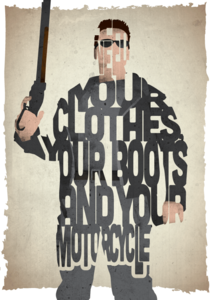 Image of Clothes, Boots and Motorcycle - Terminator 2: Judgement Day