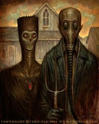 Image of &quot;Post American Gothic&quot;  Limited Edition Canvas Giclee- 16x20&quot;