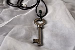 Image of Vintage Key-Necklace
