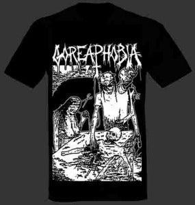 "Image of Goreaphobia ""Demo Cover"" T shirt"