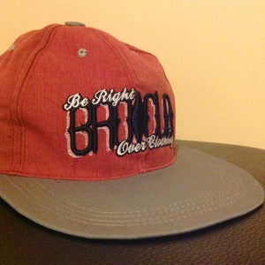 Image of BROCLO Two Tone Snapback (Red/Grey)