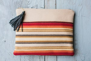 Image of Coco Portfolio in Sterling Stripe