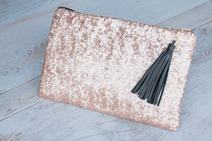 Image of Harlow Clutch in Starlight Sequin