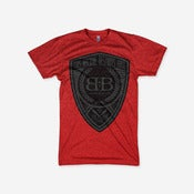 Image of This Machine Tee (Heather Red)