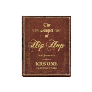 "Image of KRS One's ""The Gospel of Hip Hop: First Instrument"""