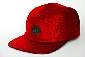 "Image of ""A B A D D O N"" 5 Panel Camp Cap *PREORDER*"