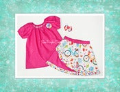 Image of Julia Peasant Top & Ruffle Skirt Set 2T-8Y (FREE M2M Hairbow)