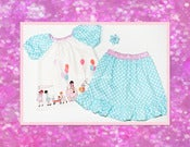 Image of Let's Play Peasant Top & Ruffle Skirt Set 12 mos-8Y