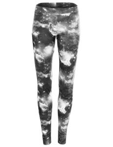 Image of SUPERNOVA LEGGINGS IN GREYSCALE