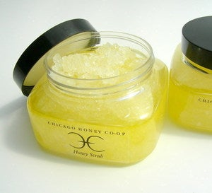 Image of Honey Bath Scrub 8oz. 
