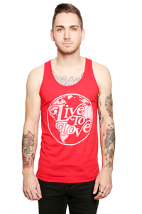 Image of Red Globe Tank Top