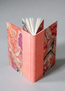 Image of Coral Marbled Journal