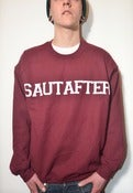 Image of Varsity Sweatshirt Burgundy