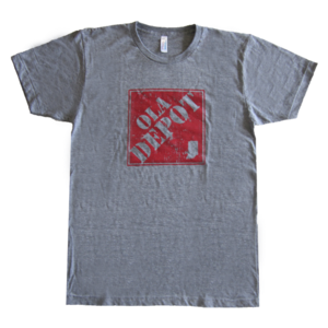 Image of OLA DEPOT (Grey Tri-Blend)