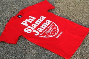 "Image of ""Phi Slama Jamma"" T-Shirt l Red"