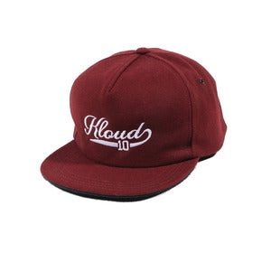 Kloud Ball Cap Maroon