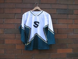 "Image of City of Savages Savage ""Stars"" Hockey Jersey"