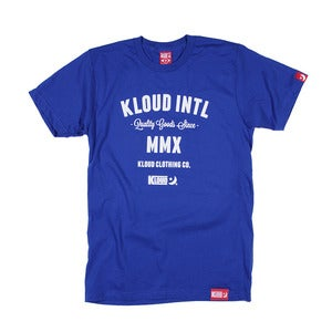 Kloud International tee Royal