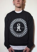 Image of Crest Sweatshirt Black - Men's
