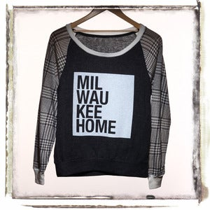 PULLOVER - HOUND PLAID