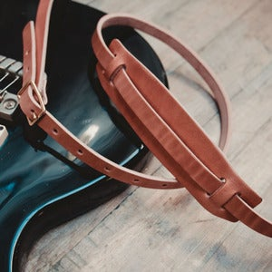 Image of Wood&Faulk Guitar Strap
