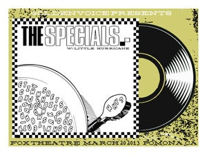 Image of The Specials - Fox Theater Poster