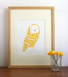 Image of September Owl Illustration by Gingiber