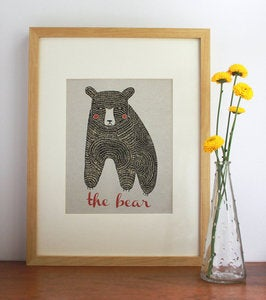 Image of The Bear Print