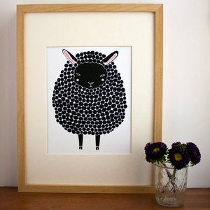 Image of Black Sheep Illustration by Gingiber