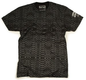 Image of SNAKE TEE | black
