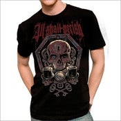 Image of ALL SHALL PERISH - Skull Key T-shirt