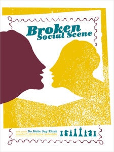 Image of Broken Social Scene Gig Poster