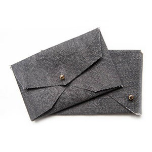 Image of Soft Card Case -Denim
