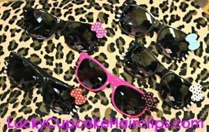 Image of Polka Dot  Bow HK Sunnies