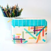 Image of e-reader case - washi tape