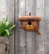 Acorn Birdhouse - Garden Decor