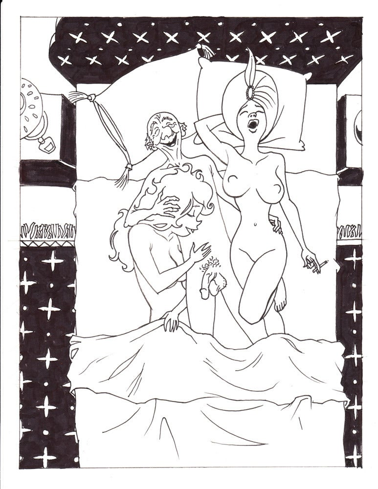 Image of Live Nude Ghouls Page 14, Panel 3
