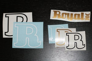 Image of Royal HC Small Sticker/Decal Set