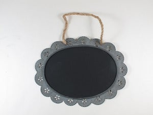 Image of Oval Decorative Hanging Blackboards