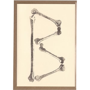 Image of B Card [Bones]