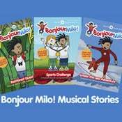 Image of New! Bonjour Milo! bundle