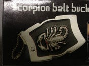 Image of Scorpion Belt Buckle