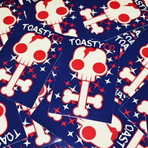 Image of COSMIC BONEZ Stickers