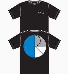 "Image of Polar ""3-Way"" Tee Black"