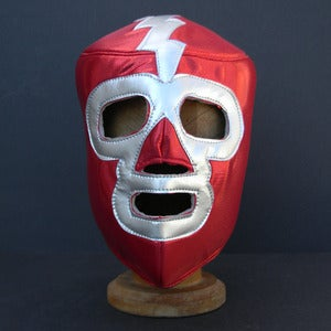 Image of Mexican Wrestling Mask - Rayo Escarlata